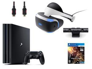 PlayStation VR  Bundle 3  Items:VR Headset,Playstation Camera,PlayStation 4 Pro 1TB,VR Game Disc PSVR EV-Valkyrie