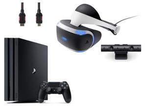 PlayStation VR  Bundle 4 Items:VR Headset,Playstation Camera,PlayStation 4 Pro 1TB