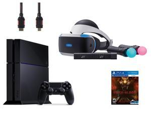 PlayStation VR Starter Bundle (5 Items): PlayStation 4 Game Console, VR Headset, 2 Move Motion Controllers, PlayStation Camera, and PSVR Until Dawn: Rush of Blo