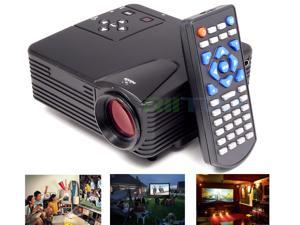 Pico Mini Home Cinema Theater LED LCD Projector Proyector Projetor Full HD 1080p TV AV VGA USB HDMI SD 640 x 480 80 Lumens