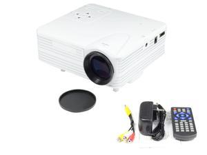 Pico Mini LED LCD Proyector Beamer Projector Projetor 640x480 80 LM Home Theater Cinema Full HD 1080P HDMI A/V AV VGA USB SD For PS3 XBOX