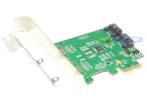 PCI-e PCI Express 2-Port SATA iii 6G Expansion Controller Card Adapter Marvell 88SE 9170 Chipset