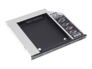 2nd 9.5mm Hard Drive HDD Caddy Adapter with eject / lock latch mechanism For Dell E6400 E6500 E6410 E6510 M2400 M4400 M4500