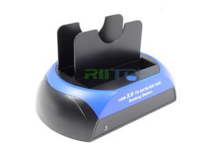 """USB 3.0 Hard Drive HDD Dock Docking Station For 2.5"""" /3.5"""" SATA IDE Hard Disk Drive HDD SSD Support capacity up to 3TB"""