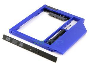 Laptop SATA 3 2nd HDD Caddy Universal 9.5mm CD DVD Optical Bay Hard Drive Adapter to 2.5inch SATA SSD HDD Case