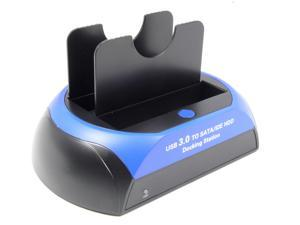 External IDE SATA Hard Disk Drive HDD Dock Docking Station USB 3.0 For  2.5/3.5-inch PATA SATA HDD SSD Support capacity up to 4TB