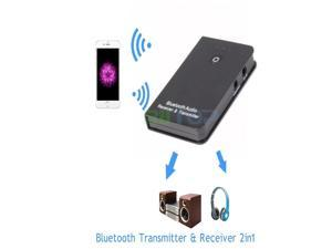 Wireless Bluetooth 3.5mm A2DP Stereo Audio Music Receiver & Transmitter For TV PC MP3 MP4 iPhone 5 5s 5c 6 Plus Samsung HTC LG Mobile Smart Phone