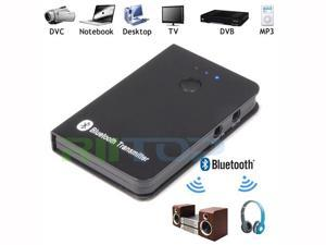 Portable Wireless Bluetooth A2DP Stereo Streaming Audio Music Sender Transmitter For TV PC Laptop Tablet MP3 MP4 iPod CD DVD Player with 3.5mm Audio Jack
