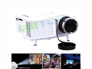 Pico Mini LED Projector Home Theater Cinema Projetor Proyector Beamer 3D Full HD 1080p AV TV VGA HDMI USB SD For PC Laptop DVD Player PS3 XBOX 48Lumens