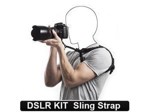 LEMAI B009Q00FLE Rs Sport Neck Shoulder Sling Strap Belt for Canon Nikon Sony Pentax Dslr Camera Boxed genuine, A++ quality for Nikon D3100 D5100 D7000 D800 D90 Dslr Any camera models