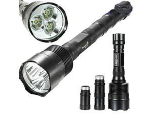 LEMAI TrustFire TR3T6 3800Lm 3x CREE XM-L T6 LED Flashlight Torch