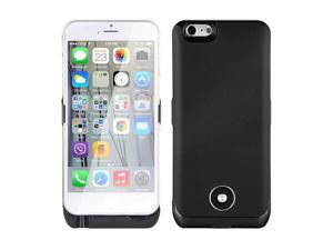 Vanda® 3800mAh External Rechargeable Power Bank Case for iPhone 6 4.7 Inch Black