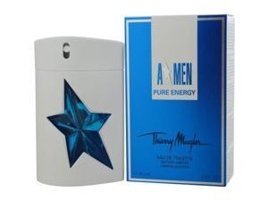 ANGEL MEN PURE ENERGY by Thierry Mugler EDT SPRAY 3.4 OZ
