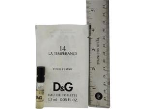 D & G 14 LA TEMPERANCE by Dolce & Gabbana EDT VIAL