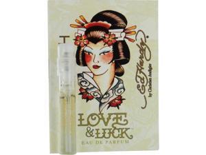 ED HARDY LOVE & LUCK by Christian Audigier EAU DE PARFUM SPRAY VIAL ON CARD