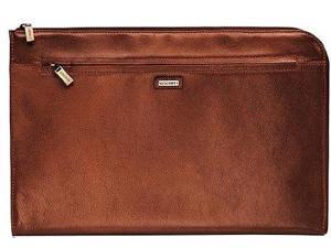 Visconti BOND - Brown Leather Under Arm Folio, Portfolio File Case / Business...