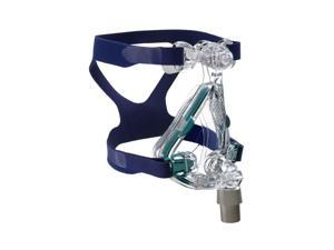 ResMed Mirage Quattro™ Full Face Mask Complete System - Medium, Blue