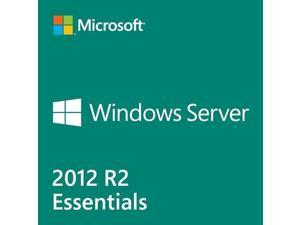 Microsoft Windows Server 2012 R.2 Essentials 64-bit - 25 User, 1 Server, 2 CPU