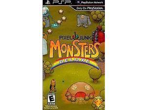 Pixel Junk Monsters Deluxe - Sony PSP