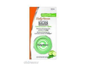 Sally Hansen Treatment Salon Manicure Cuticle Eraser Plus Balm, 3224, 0.283