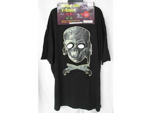 CVS Men 'Blinking Eyes T-Shirt' Adult Costume, Pirate Zombie, XL New NWT