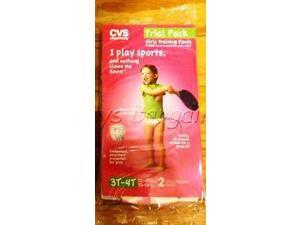 Girls Training Pants CVS Brand Size 3-4 T 32-40 Lbs New NWT