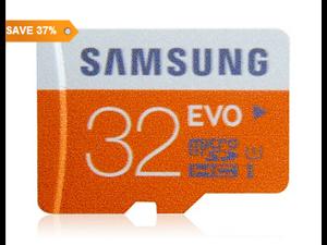 Samsung High-speed 32GB EVO Ultra-fast Micro SDHC UHS-1 Card Micro SD Card TF Card (Orange)
