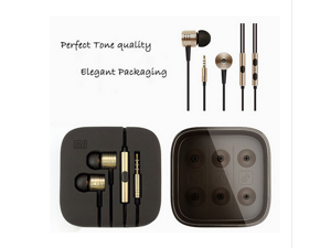 New Original XiaoMi 2nd Piston Earphone 2 II Headphones Headset Earbud with Remote  Mic For Android Phone and iphone