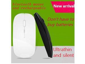 Bluetooth 3.0 rechargeable mouse Ultra thin Silent mouse micro usb matt Win8 android tablet computer and notebook wireless mouse