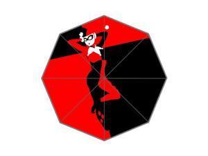 Pefect as Gift Umbrella New 2015 Cartoon Harley Quinn Printed 43.5 inch Wide Foldable Umbrella Anti Rain Durable Umbrella
