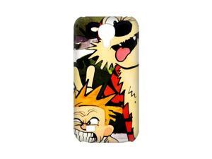 3D Print Classic Comics Series&Calvin&Hobbes Theme Case Cover for SamSung Galaxy S4 mini i9192/i9198 - Personalized Hard Cell Phone Back Protective Case Shell-Perfect as gift