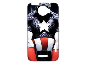 3D Print Hot Marvel Comics Superhero Series&Captain America Case Cover for HTC One X- Personalized Hard Cell Phone Back Protective Case Shell-Perfect as gift