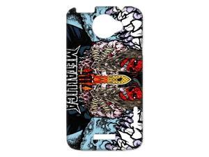 3D Print Famous Thrash Metal Band&Metallica Background Case Cover for HTC One X- Personalized Hard Cell Phone Back Protective Case Shell-Perfect as gift