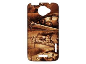 3D Print Hot Movie Series&The Hobbit Theme Case Cover for HTC One X- Personalized Hard Cell Phone Back Protective Case Shell-Perfect as gift
