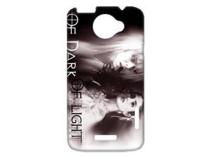 3D Print Labyrinth by UK Famous Rock Musician&Actor David Bowie Case Cover for HTC One X- Personalized Hard Cell Phone Back Protective Case Shell-Perfect as gift