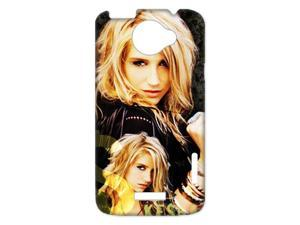 3D Print US Pop Star&Tik Tok Singer&Ke$ha Theme Case Cover for HTC One X- Personalized Hard Cell Phone Back Protective Case Shell-Perfect as gift
