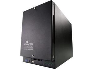 ioSafe 214 12TB Enterprise HDD Fireproof and Waterproof 1YR PRO NAS Server