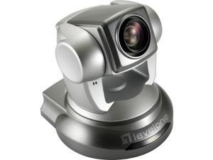LevelOne H.264 2-Mega Pixel FCS-1041 P/T/Z PoE WDR IP Network Camera w/10x Optical Zoom, TAA Compliant