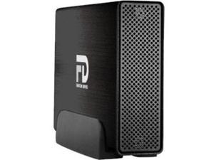 Fantom Drives Professional 5TB USB 3.0 / eSATA Aluminum Desktop External Hard Drive GFP5000EU3 Black