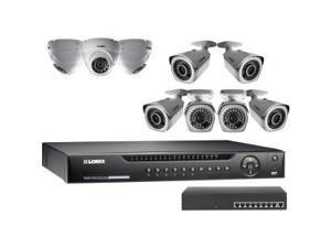 Lorex 16-Channel HD NVR with Weatherproof HD IP Cameras