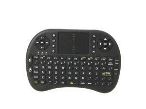 New Mini RF Wireless Keyboard Mouse Touchpad for TV Box Black AK81 Mini Wireless Keyboard Mouse Black