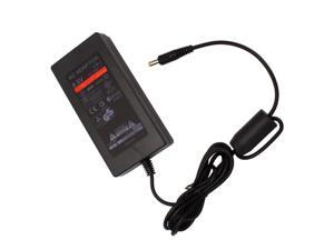 Replacement power cord slim AC Adapter charger supply for Sony PS2 New Black