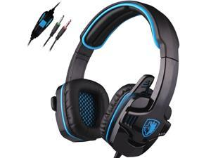 Sades Stereo HiFi Headband PC Laptop Pro Gaming Headset headphone w/ Mic 3.5mm New