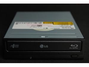 6X Speed BD-RBD-RE LG GGW-H20L Super Multi Blue Blu-ray Rewriter HD DVD dual-format Burner w/ Lightscribe - internal - 5.25""