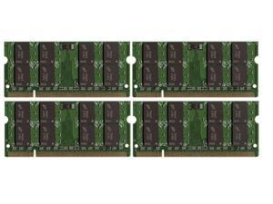 8GB 2*4GB MEMORY 200-Pin Unbuffered Non-ECC PC6400 800 Mhz DDR2 RAM for Dell ( Shipping from US )