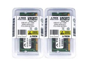 Atech 2GB Kit Lot 2x 1GB PC2-5300 5300 DDR2 DDR-2 667mhz 667 Laptop Memory RAM ( Shipping from US )