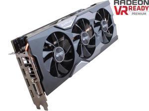 SAPPHIRE NITRO Radeon R9 Fury 100379NTOC+SR 4GB 4096-Bit HBM TRI-X OC+ (UEFI) 1 x Dual-Link DVI-D 1 x HDMI 3 x DisplayPort Video Card