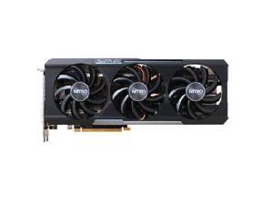 Sapphire Nitro AMD Radeon R9 390 8GB 512-Bit GDDR5 DirectX 12 OpenGL 4.5 DVI/HDMI/3DisplayPort PCI-Express Video Graphics Card