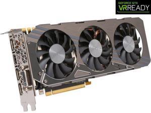 ZOTAC GeForce GTX 970 4GB 256-Bit GDDR5  1 x DL-DVI 1 x HDMI 2.0 3 x DisplayPort 1.2 AMP! Omega Core Edition Video Graphics Card