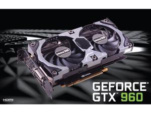 Inno3D NVIDIA GeForce GTX 960 OC 2GB 128-Bit  DDR5 PCIE 3.0 Video graphics Card 4K HDMI DirectX 12 API OpenGL 4.4